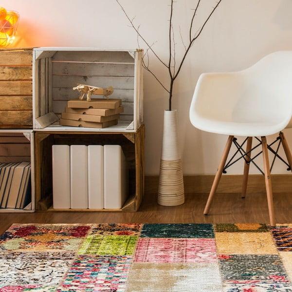 Wytrzymały dywan winylowy Vintage Tiles, 60x100 cm