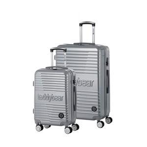 Sada 2 cestovních kufrů na kolečkách Teddy Bear Inna