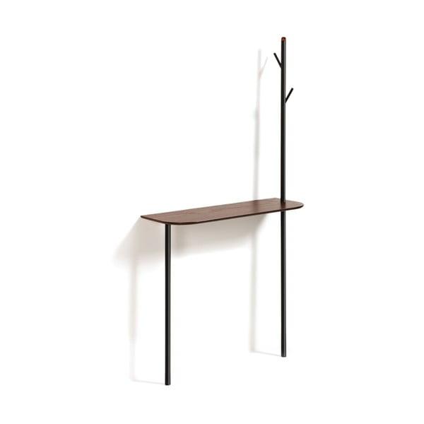 Stolik z wieszakiem La Forma Marcolina, 80x160 cm