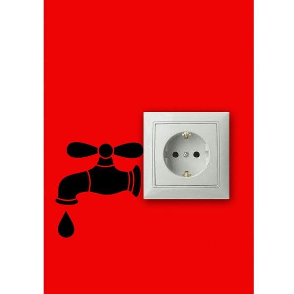 Vinylová samolepka kolem zásuvky Kohoutek