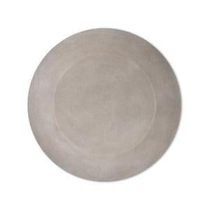 Betonový kulatý talíř Garden Trading, ø 40 cm