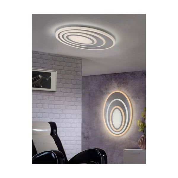 Nástěnné oválné LED svítidlo Trio Subara
