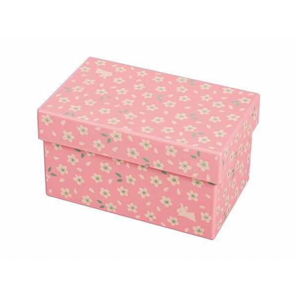 Růžový svačinový box Joli Bento Chiyo,960ml