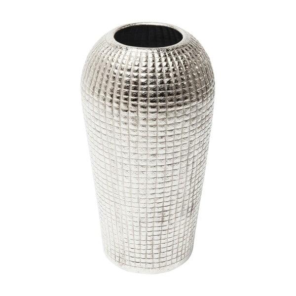 Dekoratívna hliníková váza Kare Design, výška 42 cm