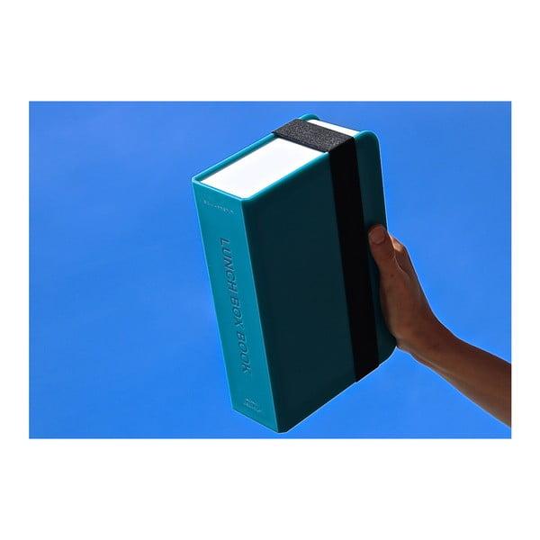 Modrý svačinový box Black Blum Book