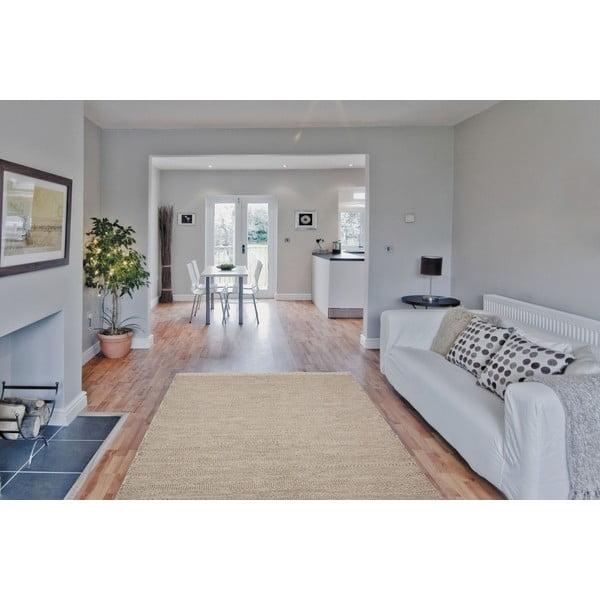 Vlněný koberec Mariposa 160x230 cm, béžový