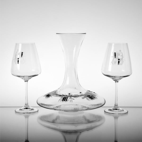 Skleničky na červené víno Vinaři, 450 ml, 2 ks