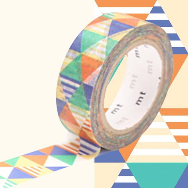Bandă decorativă Washi MT Masking Tape Violette, rolă 10 m