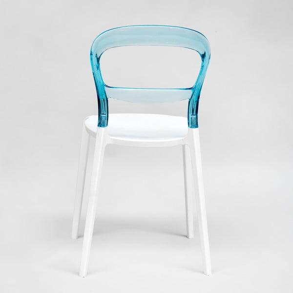 Židle Thalassa Blue/White