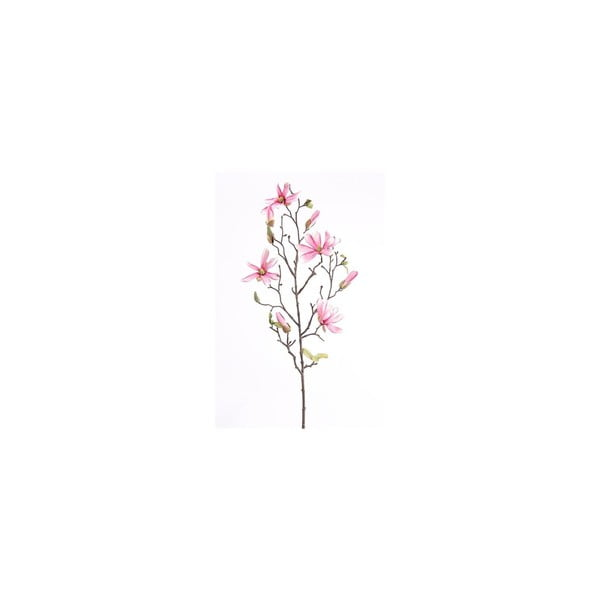 Umělá květina Magnólie Stellata, růžová
