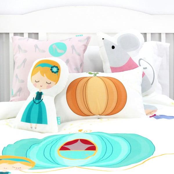 Dětské bavlněné povlečení na peřinu a polštář Mr. Fox Pumpkin, 140x200cm