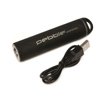 Baterie externă pentru călătorii Pebble Ministick, negru de la Pebble