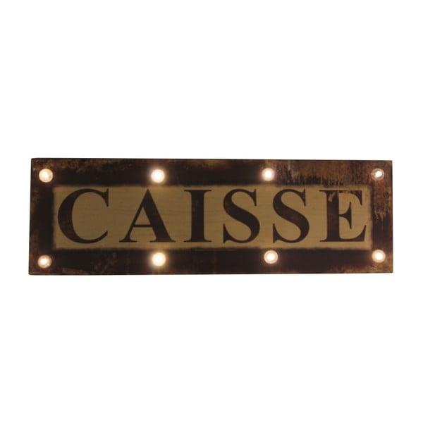Tăbliță cu lumini Antic Line Caisse