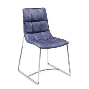 Modrá jídelní židle Ángel Cerdá Luisa
