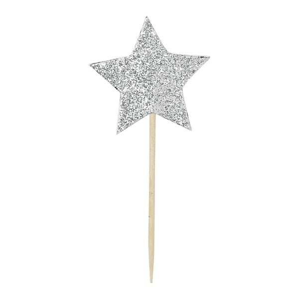 Zestaw 12 ozdób na tort Miss Étoile Star