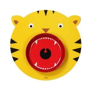 Sada prostírání a talíře DOIY Hungry Tiger
