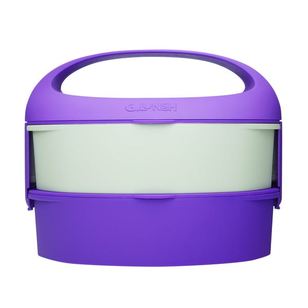 Svačinová krabička Bento G.Lunch Aubergine Purple
