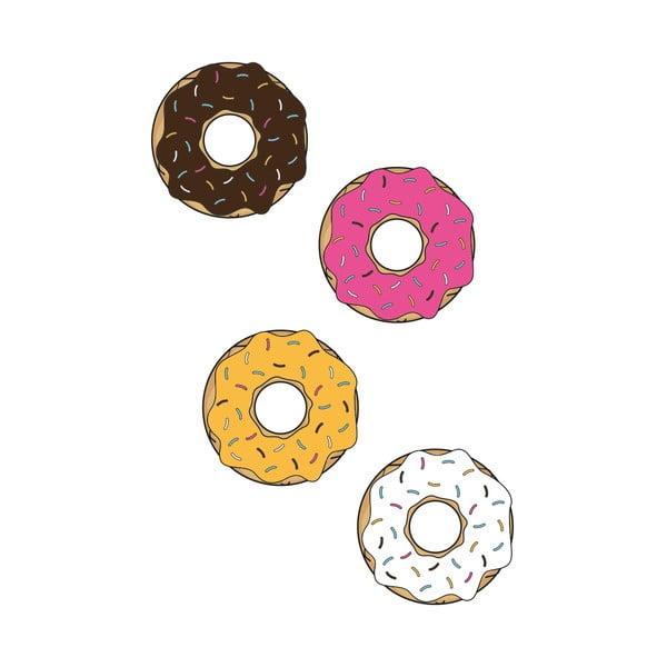 Samolepka na stěnu Donuts
