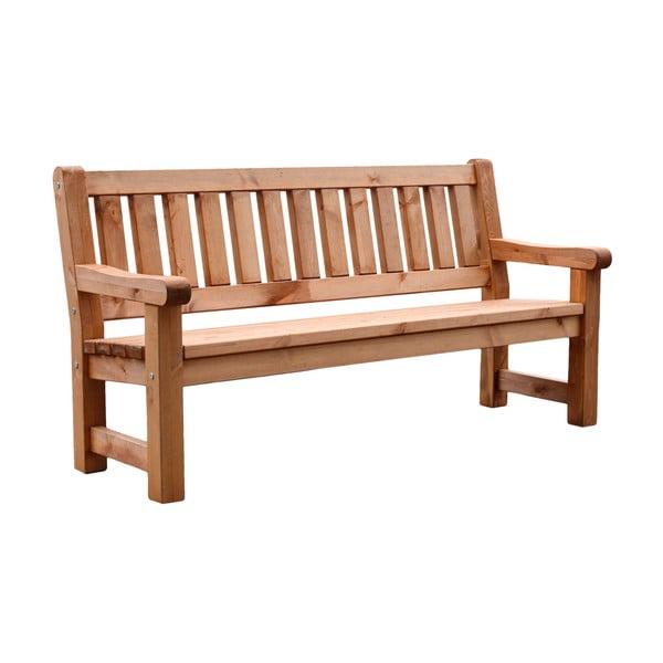 Ogrodowa ławka 3-osobowa z drewna sosnowego ADDU Allgäu