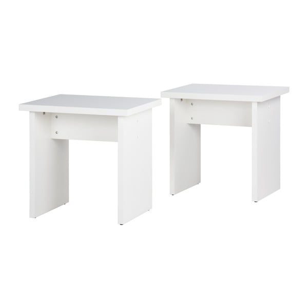 Sada 2 bílých stoliček 13Casa Cloe