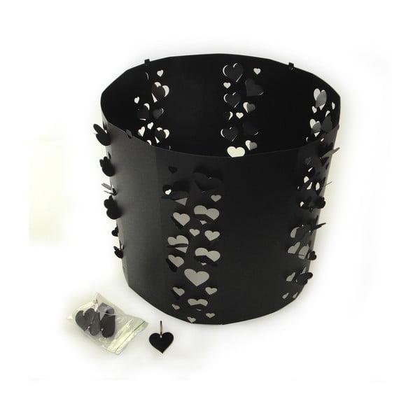 Hearts Black, vyměnitelné svítidlo