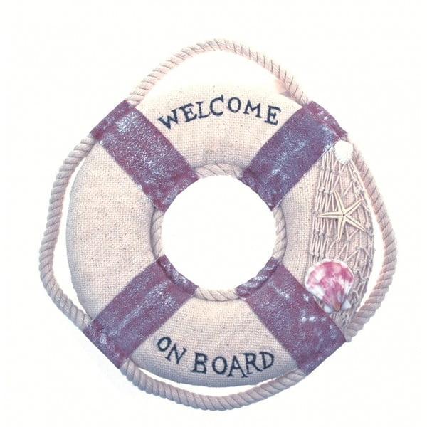 Nástěnná dekorace Welcome on board