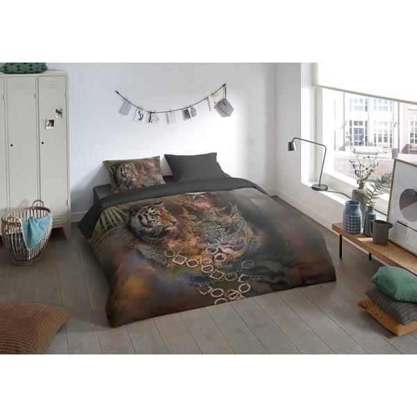 Povlečení na jednolůžko z mikroperkálu Muller Textiels Lusso, 140 x 200 cm