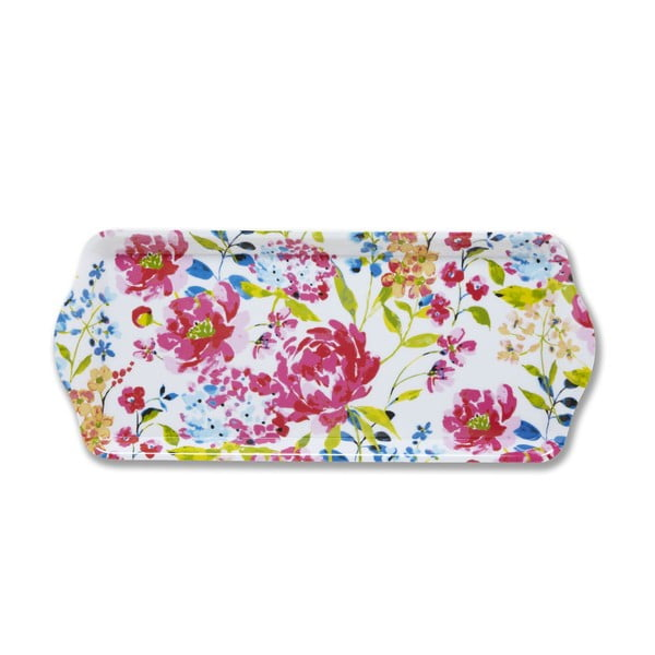 Plastový tác Cooksmart England Floral Romance