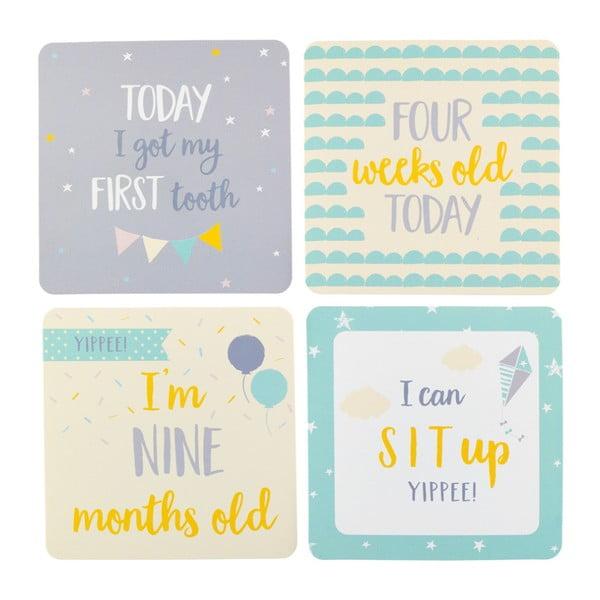 Sada 24 dekorativních kartiček Busy B Baby