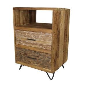 Nízká komoda z teakového dřeva HSM Collection Baliaga