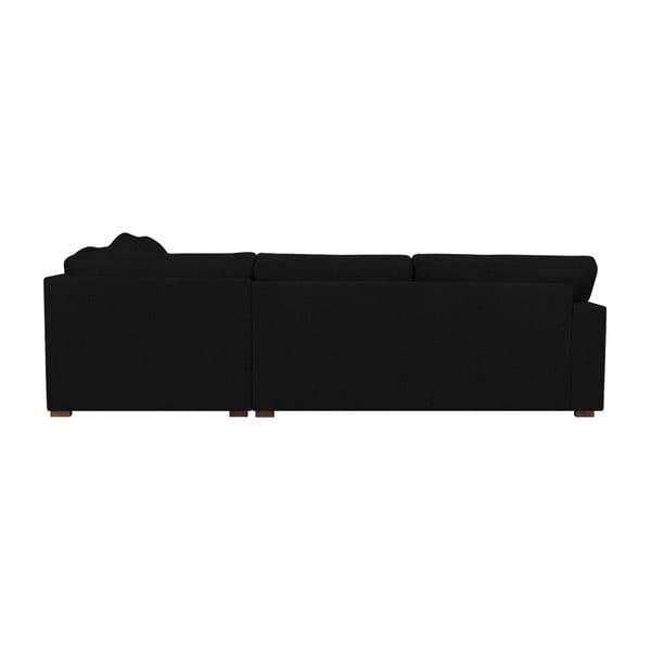 Černá pohovka Windsor & Co Sofas Daphne, pravý roh