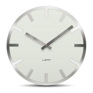 Nástěnné hodiny White Metlev, 35 cm