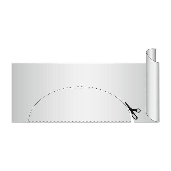 Šedá protiskluzová podložka do zásuvky Wenko Anti Slip, 150x50cm