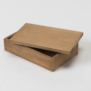 Úložný box z jedlového dřeva Compactor Vintage, šířka14cm