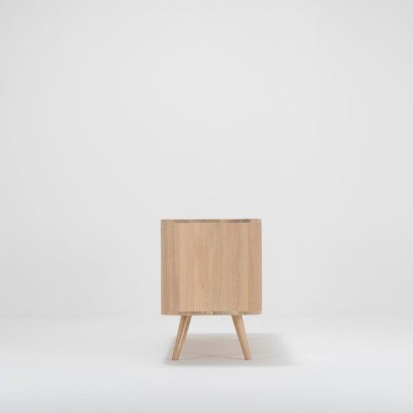Komoda z dubového dřeva Gazzda Ena, 135x42x60cm