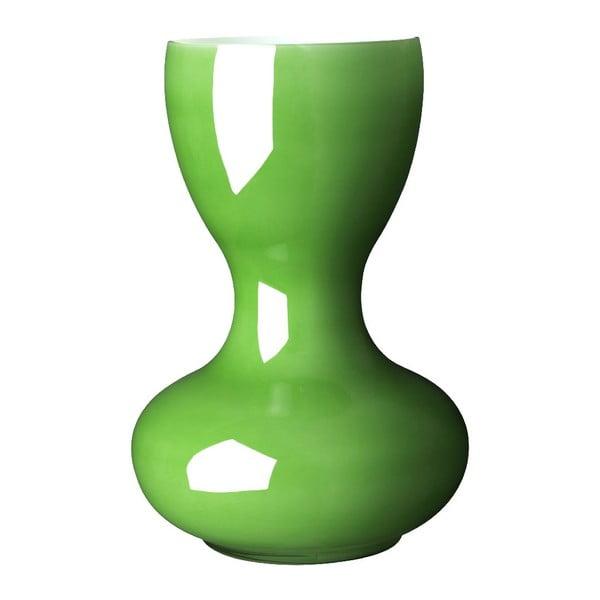 Váza Ballone 38 cm, zelená