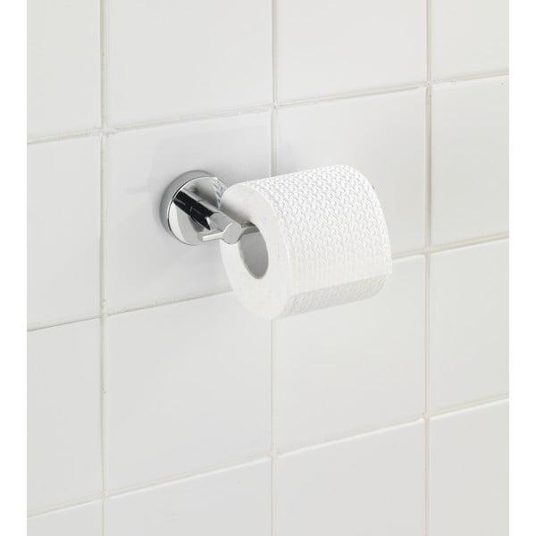 Suport pentru hârtie igienică Wenko Capri cu sistem de prindere Vacuum-Loc, până la 33 kg