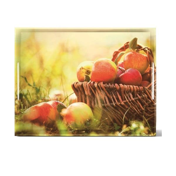 Podnos Classic Apples, 40x31 cm