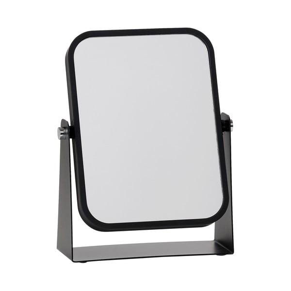 Kozmetikai asztali tükör, fekete kerettel - Zone