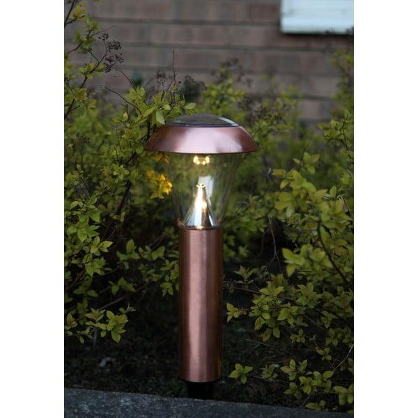 Zahradní světlo Solar Energy Garden Light Black Rose
