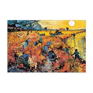 Obraz Van Gogh - Die roten Weinberge von Arles, 90x60 cm