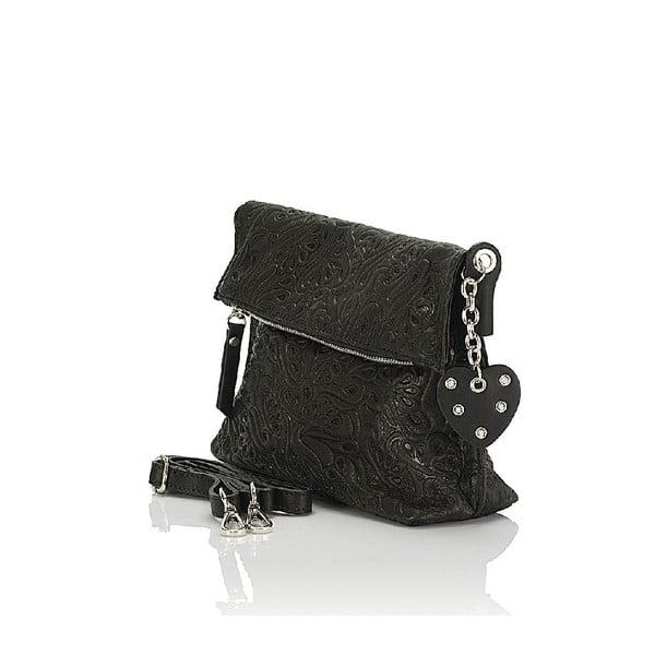 Kožená kabelka Giorgio Costa 15006 Black
