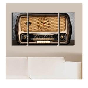 Obrazové hodiny Retro
