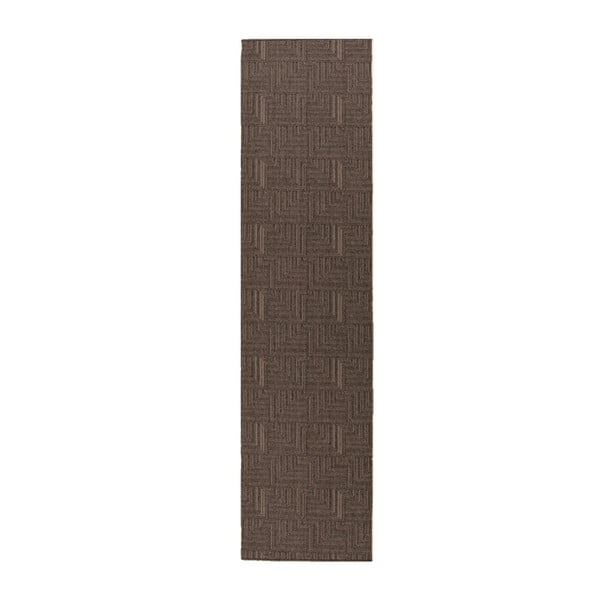 Běhoun Flair Rugs Skyline Pinnacle Charcoal, 67 x 300 cm
