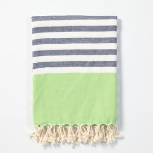 Hamam osuška z ručně tkané bavlny ZFK Hildur, 170x100cm
