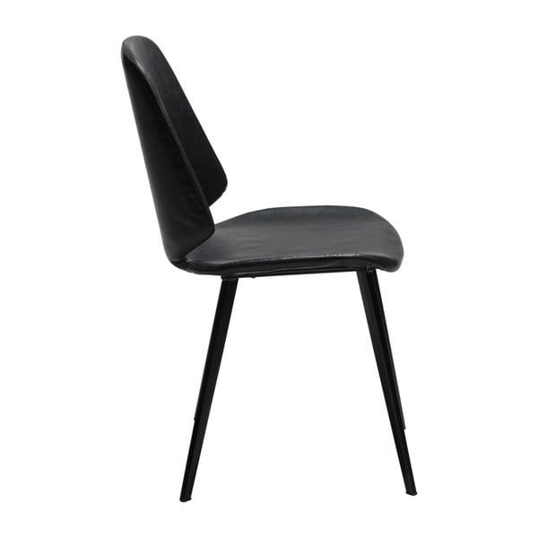 Černá jídelní židle DAN-FORM Denmark Swing