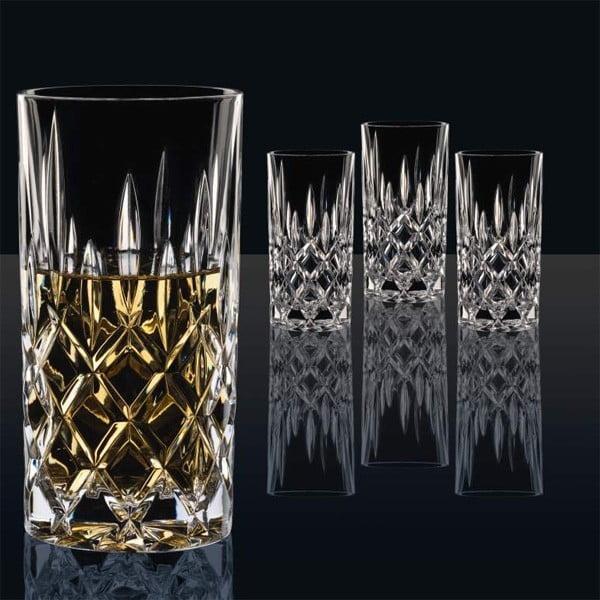 Sada 4 sklenic z křišťálového skla Nachtmann Noblesse, 375ml