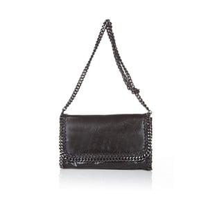 Kožená kabelka Chain Black