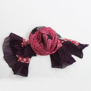 Šátek, růžová/fialová