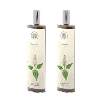 Set 2 spray-uri parfumate de interior cu aromă de patchouli Bahoma London Fragranced, 100 ml